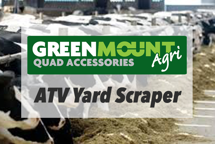 Greenmount ATV Yard Scraper